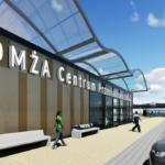 Sprzedaż nieruchomości na centrum handlowo-usługowe przy Dworcu PKS w Łomży
