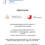 POLISH INVESTMENT ZONE conference